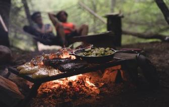 COOKING IN A CAMPING WAS NEVER SO EASY